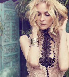 Stunning! Diane Kruger On First Ever Virtual Reality Cover For ELLE Canada