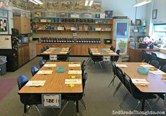 3rd Grade Thoughts: Classroom Tour 2014