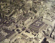 Plaza de la montañera, Alicante a mediados del siglo XX