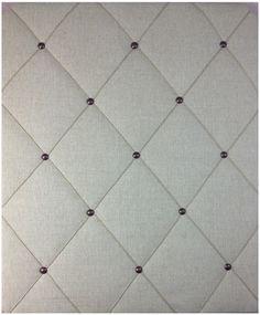 Linen Twine Bronze Notice Board www.noticeboardstore.com