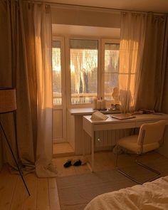 Room Design Bedroom, Room Ideas Bedroom, Home Room Design, Dream Home Design, Bedroom Decor, Minimalist Room, Aesthetic Room Decor, Cozy Room, Dream Rooms