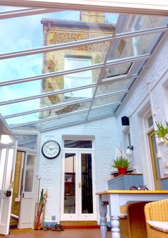 A collection of Lean-to conservatory installations by Taverham Conservatories. Lean To Conservatory, Conservatory Design, Victorian Terrace House, Outdoor Rooms, Outdoor Decor, Shed Design, Conservatories, House Extensions, Minne