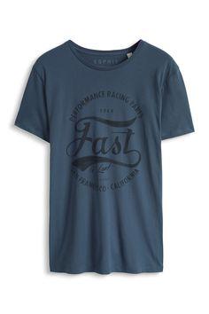 Davide Martini for Esprit - Baumwoll Jersey T-Shirt mit Print im Online Shop kaufen Graphics by www.hero-parasite.com