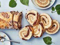 Korvapuustikääretorttu   Valio French Toast, Gluten Free, Vegan, Baking, Breakfast, Food, Kitchen, Finland, Glutenfree