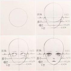 New Drawing Poses Reference Anime Sketch Ideas Anatomy Drawing, Manga Drawing, Manga Art, Girl Face Drawing, Body Anatomy, Manga Anime, Figure Drawing, Girl Anatomy, Head Anatomy