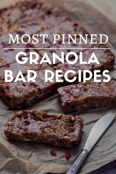 Attirant Go Granola: 10 Most Pinned Granola Bar Recipes