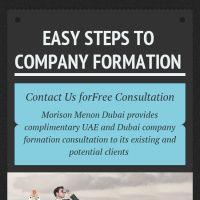 Infographic: Company Formation in Dubai