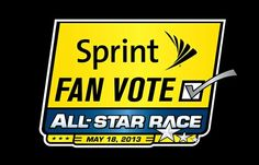 Vote for DANICA by using NASCAR Mobile '13 where votes count double or visit www.NASCAR.com/SprintFanVote - voting is unlimited so you can vote as often as you like.