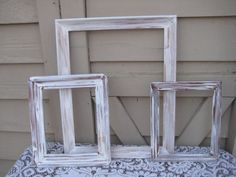 Three great white frames for your shabby chic wedding photo booth or beach wedding. Great for that french country or beach cottage home decor. Large frame - x x Medium frame - 11 x 13 x Small frame - x x Wedding Photo Booth, Wedding Photos, Wedding Ideas, Chic Wedding, Trendy Wedding, Wedding Decor, Wedding Reception, Wedding Stuff, Dream Wedding