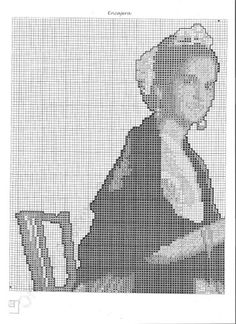 Needlework, Fictional Characters, 2d, Punto Croce, Cross Stitch Letters, Cross Stitch Pictures, Crochet Baby, Bobbin Lace, Needlepoint