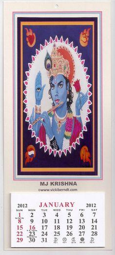 A Michael Jackson Calendar from India! XDDD  I've heard it's on sale for 10 dollars. Idk.