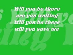 Tiffany Giardina - Hurry up and save me - Lyrics On Screen