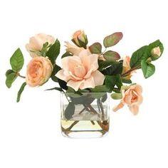 Faux Rose & Gardenia Arrangement I