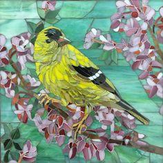 Renu Sharma Owl Mosaic, Easy Mosaic, Mosaic Tile Art, Mosaic Birds, Mosaic Artwork, Mosaic Flowers, Mosaic Crafts, Mosaic Projects, Mosaic Glass