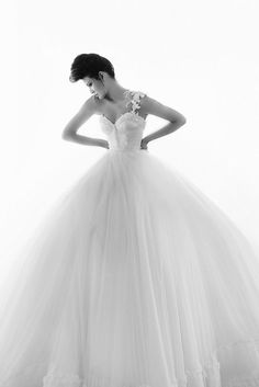 Ultimate princess ball gown #wedding dress? Might be!