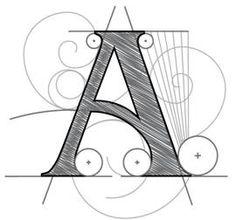 Aplicación del Dibujo técnico en Tipografía