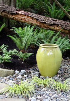 Lytle Road, Bainbridge Island - Shaded Creek - contemporary - Landscape - Seattle - Bliss Garden Design