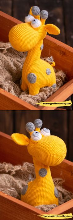 Crafts Step By Step Amigurumi CROCHET PATTERN toy Giraffe. This crochet pattern contains a detailed description of how to create Giraffe, with a great amount of step-by-step photos and a list of necessary materials. Amigurumi Animals, Crochet Amigurumi, Amigurumi Toys, Crochet Animals, Crochet Giraffe Pattern, Crochet Patterns Amigurumi, Crochet Simple, How To Start Knitting, Crochet Instructions