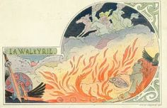 Page FIVE of E L Lessieux Art Nouveau Opera Postcards   About Postcards