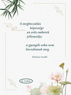 Gandhi a megbocsátásról Peace Love Happiness, Peace And Love, Truth Of Life, Mahatma Gandhi, Buddha, Diy And Crafts, Place Card Holders, Motivation, Sayings