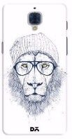 Cool Lion White Case For OnePlus 3T // Printed - Hipster Lion