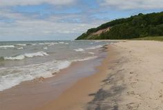 Lake Michigan in Frankfort