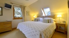 4 Star GOLD B&B in Aberfeldy near Pitlochry in Perthshire. Panoramic views over the River Tay and the mountains. Best B, Bedroom Bed, Free Wifi, Bed And Breakfast, House, Furniture, Home Decor, Decoration Home, Home
