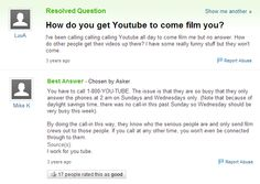 Who really uses Yahoo Answers for anything but to laugh at dumb questions? These are the best!