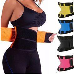 3d8793c40e Unisex Tummy Waist Sweat Belt Trainer