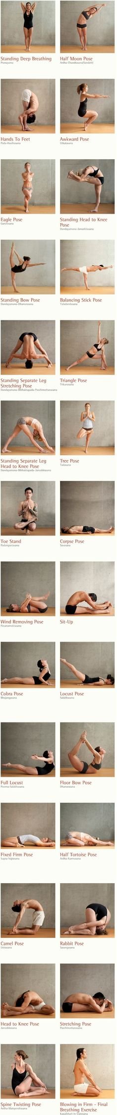 26 Healthy Yoga Postures