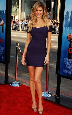 Marisa Miller showed off on the red carpet with her red hot and sexy legs by wearing her dark blue dress. Purple Evening Dress, Purple Dress, Evening Dresses, Bandage Dresses, Prom Dress, Bodycon Dress, Marisa Miller, Club Outfits Clubwear, Belle
