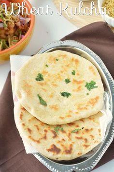 Kulcha and Wheat Kulcha recipe