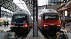 Estación de tren en Lucerna - Suiza