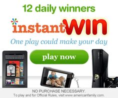 Play the American Family Instant Win Game Today!  It's Free!