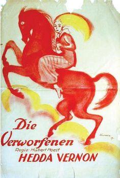 Ludwig Kainer (1885-1967, German), 1917, Die Verworfenen, H: 141.99 cm., W: 95.00 cm.