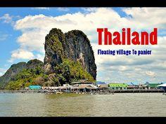Floating village To panier   Тайланд Морская дорога в Плавучую деревню ...