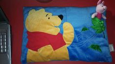 Winnie the Pooh Bear Pillow Animation Piglet Plush Disney Store EUC Gift RARE