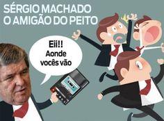 O Governo Interino de Michel Temer acaba de perder mais um Ministro – o terceiro, sendo que todos os 3 foram derrubados por Sergio Machado (já pode pedir música no Fantástico…