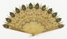 Fan (possibly France), 1820–30