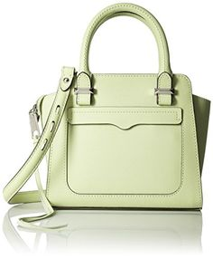 Rebecca Minkoff Micro Avery Tote Cross Body Bag, Honey Dew, One Size ** Find out more details @ http://www.passion-4fashion.com/handbags/rebecca-minkoff-micro-avery-tote-cross-body-bag-honey-dew-one-size/?yx=010716230642
