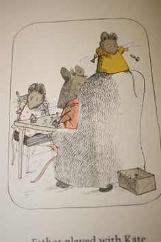 My favorite childhood book. I had it in mini form, so cute! Special Pictures, Cute Mouse, Children's Book Illustration, Watercolor And Ink, Designs To Draw, Love Art, Painting & Drawing, Childrens Books, Arnold Lobel