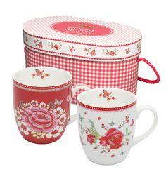 Room Seven - Mokken geschenkset @ deservies.nl - sweet box and mug set