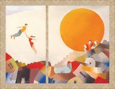 Orange Sun - Bizart Galleries