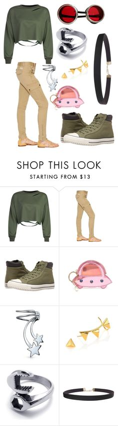 """Molly ~ Oban Star Racers"" by beautyonthegeek on Polyvore featuring WithChic, Polo Ralph Lauren, Converse, Charlotte Olympia, Bling Jewelry, TomTom and Humble Chic"