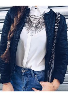 Tribal Boho Statement Necklace #ootd #stylish - 19,90 € @happinessboutique.com