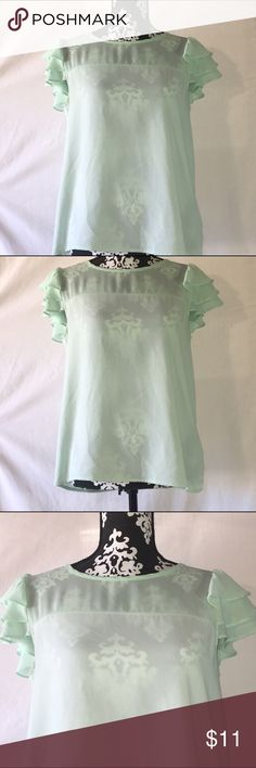 🚨Final Price🚨 EUC Teal Forever21 Chiffon Blouse EUC Teal Short Sleeved Blouse  Size: M-fit true to size  Measurements can be provided upon request. 📝  Fabric Content: 👗 100% Polyester  Features: ✨  •EUC CONDITION! •Very comfortable top! •NO signs of wear! •Perfect top for the spring and summer season!  Get 15% off when you buy 3+ items plus save on shipping! 💸 Thanks for looking 💕 Forever 21 Tops Blouses