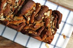 Two of a Kind   Brown Sugar Pull-Apart Bread   http://www.twoofakindcooks.com