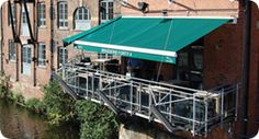 Fully cassetted square #retractable #awning