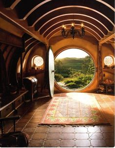 hobbiton, pictures from the set of The Hobbit movies.