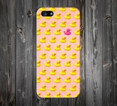 Pink x Yellow Rubber Ducky Case for iPhone and Samsung